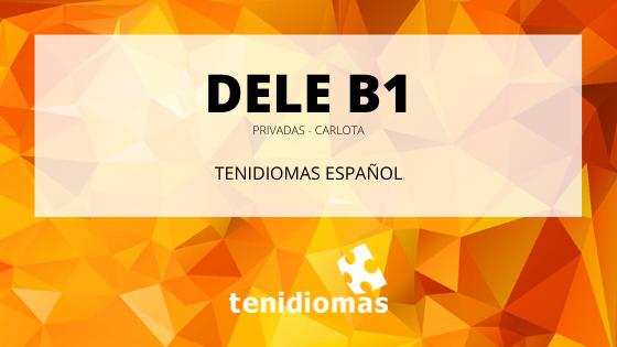 DELE B1 (Carlota)